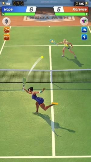 Tennis Clash 3D破解版图2