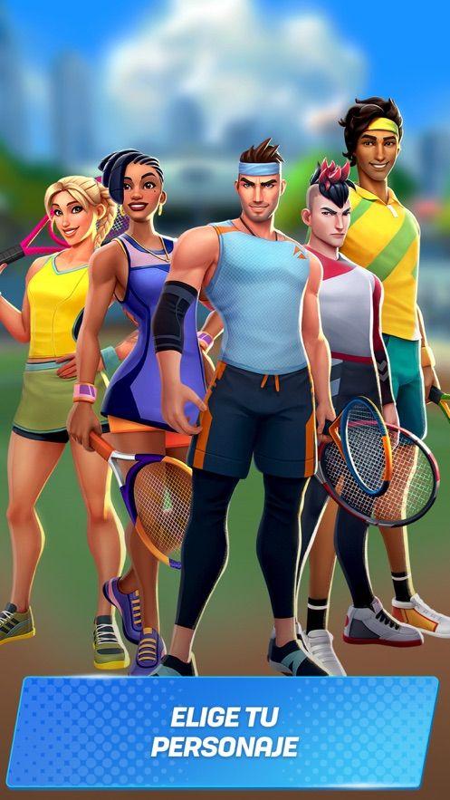 Tennis Clash 3D破解版图3