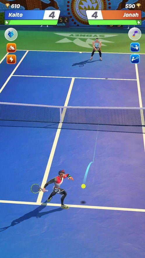 Tennis Clash Top 3D Ball Game游戏中文内购破解版图片1