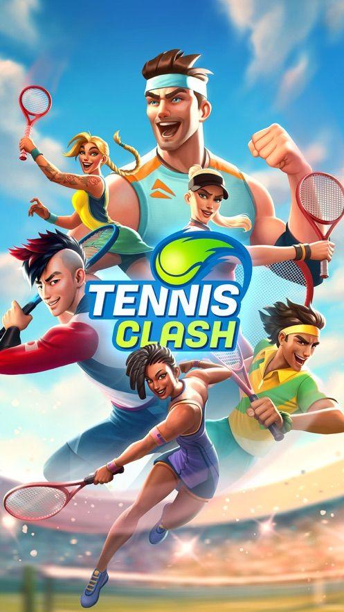 Tennis Clash Top 3D Ball Game游戏中文内购破解版图片2