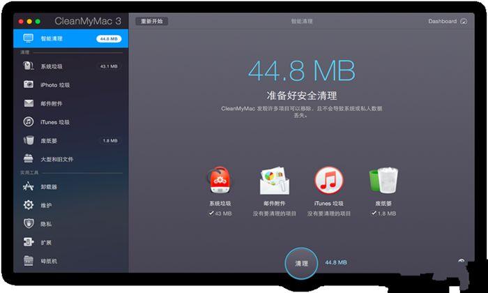 Cleanmymac X最新中文完美版图1