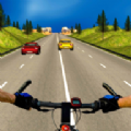 自行車騎手交通競賽游戲