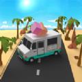 疯狂的汽车道路游戏