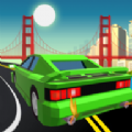 卡通城市汽车驾驶游戏