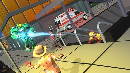 超級機器人戰場游戲圖1
