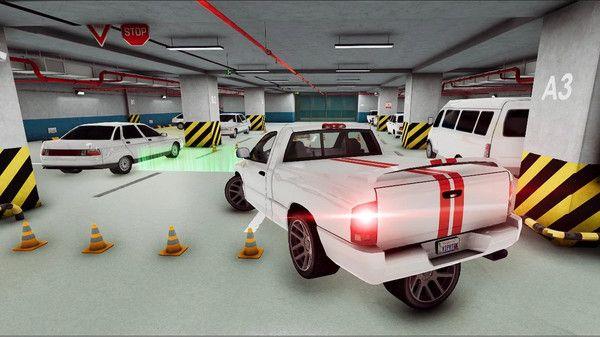 瘋狂停車模擬駕駛3D游戲圖3