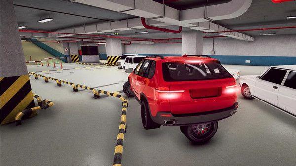 瘋狂停車模擬駕駛3D游戲圖2