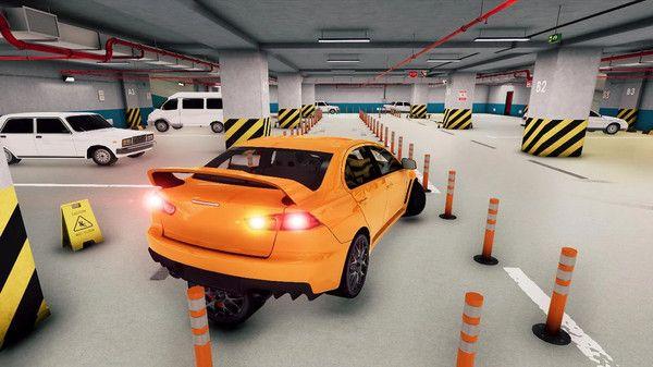 瘋狂停車模擬駕駛3D游戲圖1