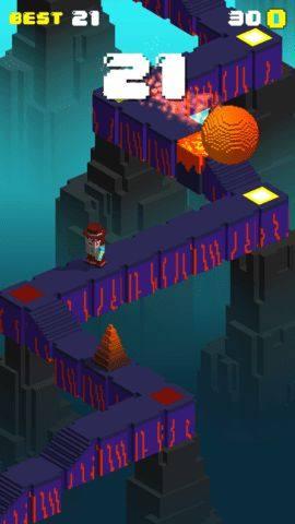 神庙奔跑者躲闪和逃跑游戏图1