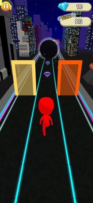 扭曲色彩跑步者游戏图1
