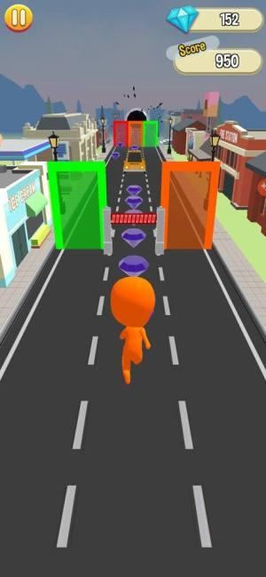 扭曲色彩跑步者游戏图2
