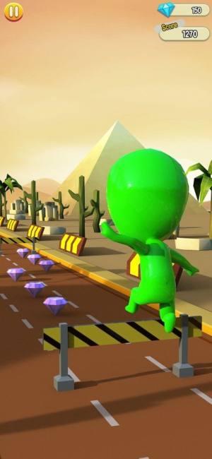 扭曲色彩跑步者游戏图3