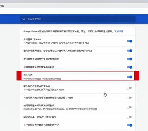 谷歌浏览器如何设置安全浏览[多图]图片3