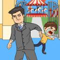 爸爸不让我进游乐场游戏