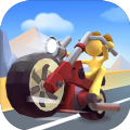 摩托车冲刺游戏