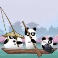 三只熊貓在日本游戲