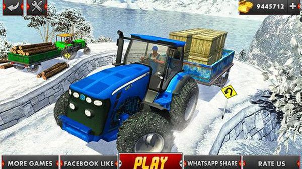 農業拖拉機駕駛模擬游戲圖2
