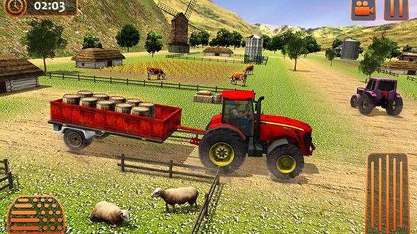 農業拖拉機駕駛模擬游戲圖1