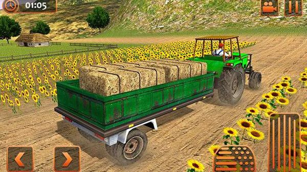農業拖拉機駕駛模擬游戲官方安卓版圖片1