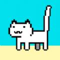 残疾猫吃鱼干游戏