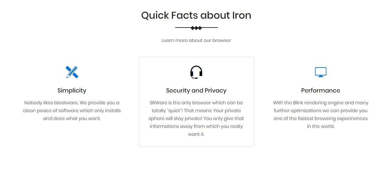 SRWare Iron钢铁极速浏览器官方版下载v70图片1