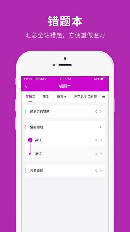 自學考試快題庫app圖3