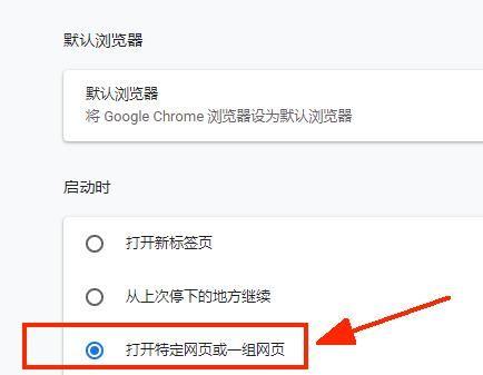 谷歌浏览器如何设置默认主页?谷歌浏览器设置默认主页的方法[多图]图片3