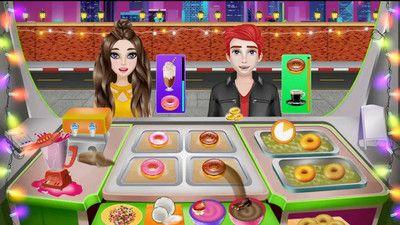 厨师食物街道游戏图2