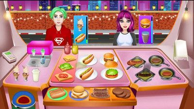 厨师食物街道游戏安卓版图片1