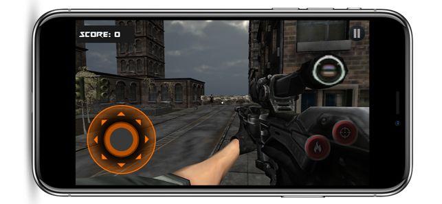 僵尸之城狙击手3d安卓版图3