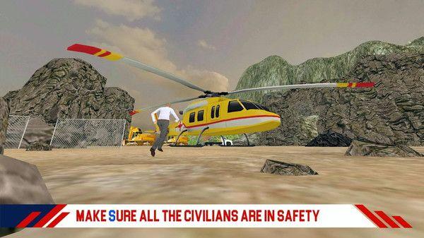 消防直升机救援游戏图3