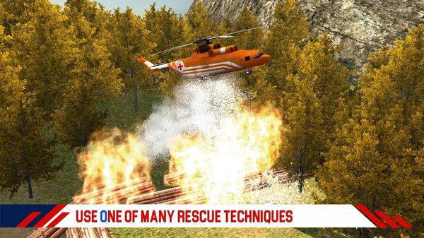 消防直升机救援游戏图2