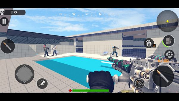 FPS操作射擊打擊游戲圖3