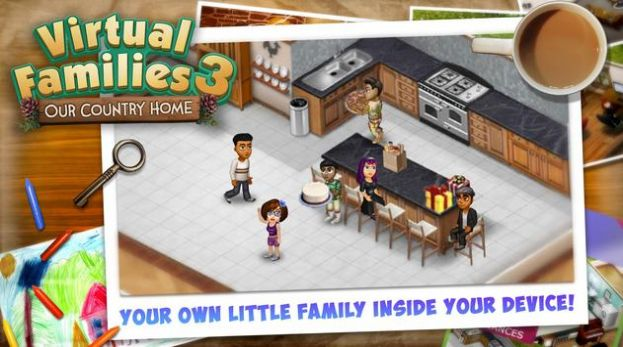 Virtual Families 3游戏中文汉化版图片1
