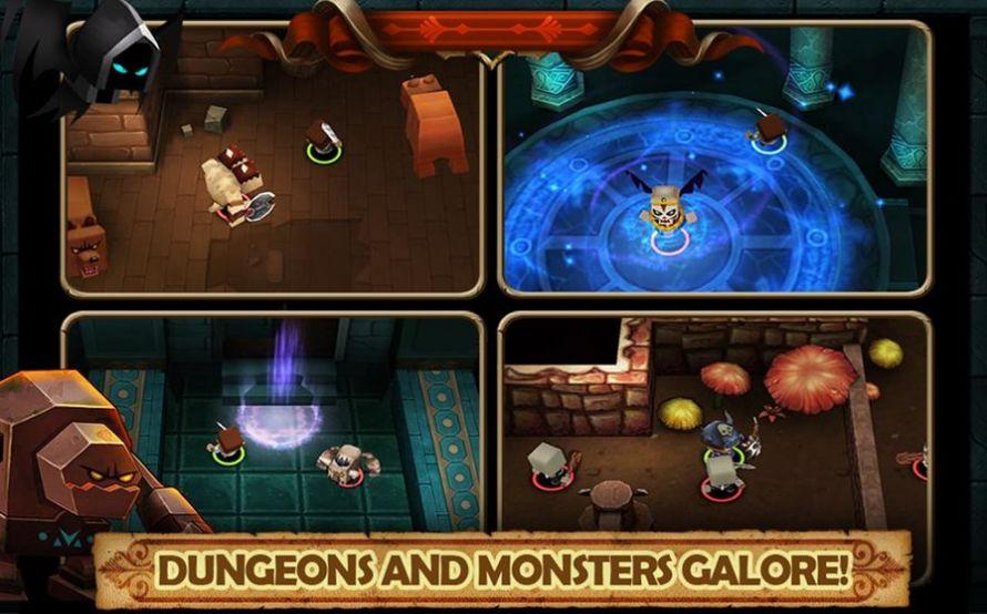 勇士闯魔窟游戏安卓版图片1
