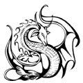 龙形图腾特殊符号复制