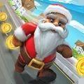 欢乐圣诞老人跑酷游戏