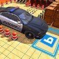 极限警车停车场3D游戏