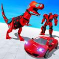 恐龙机器人汽车改造游戏