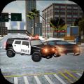 开警车模拟驾驶员游戏