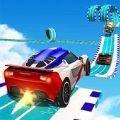 GT汽车空中特技游戏