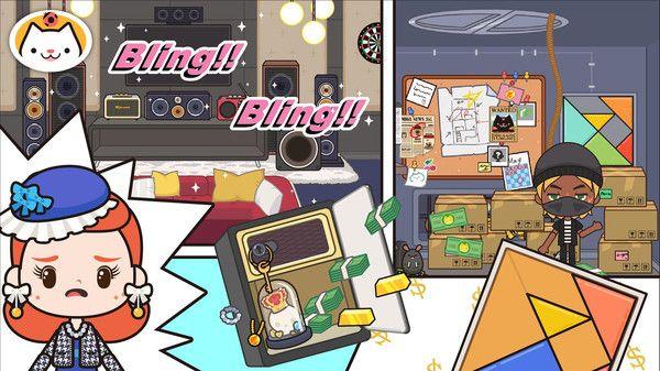 米加我的小镇四人别墅游戏图2