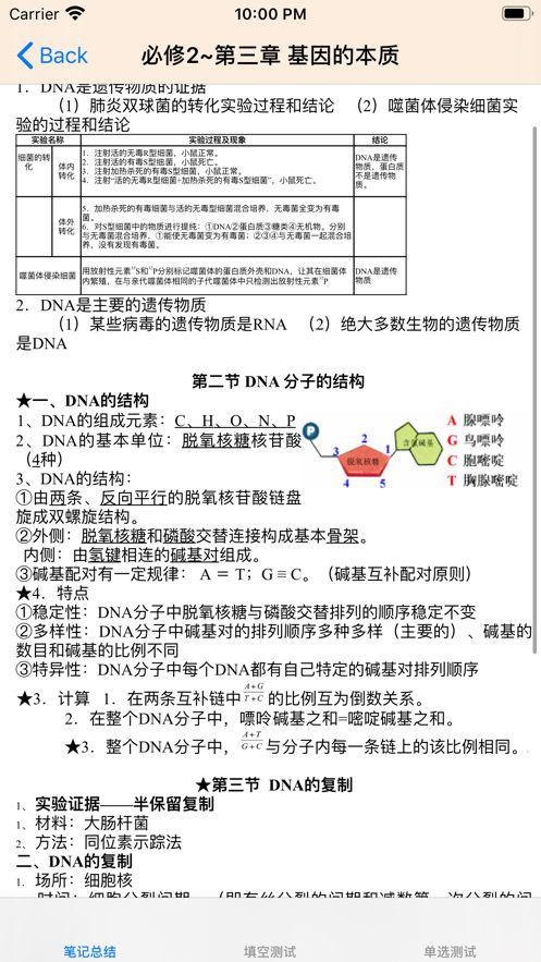 高(gao)中生物總結大全精品(pin)文庫(ku)app手機版圖片2