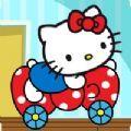 凯蒂猫赛车历险记游戏