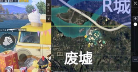 和平精英废墟爱心小岛位置大全 废墟爱心小岛打卡拍照点位置汇总[多图]图片2