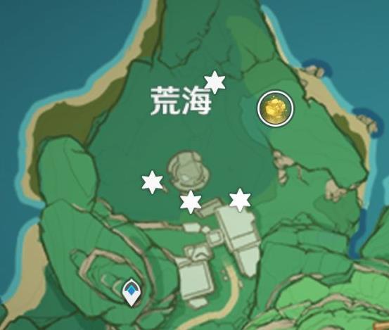 原神荒海传送点位置在哪?荒海传送点位置分布图大全[多图]图片1