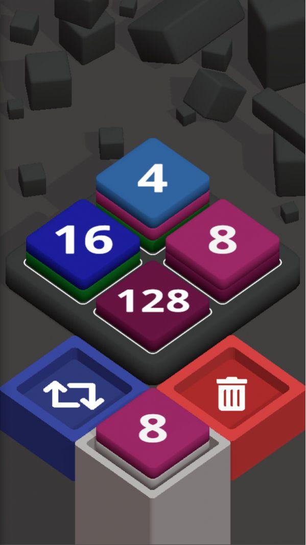 2048方块堆栈游戏图1
