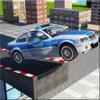 屋顶警车训练游戏