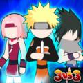 火柴人忍者3v3游戏