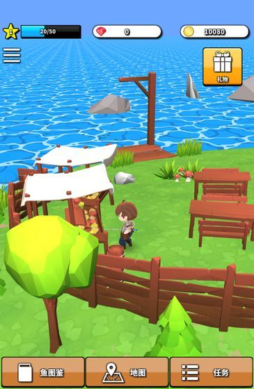 无人岛垂钓生活官方版安卓版游戏图片1